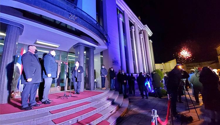 Предсједник Владе Радован Вишковић посјетио је Дервенту поводом стицања статуса града