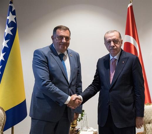Чланови Предсједништва БиХ састали се у Анталији са предсједником Републике Турске Реџепом Тајипом Ердоаном